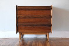 Mid-century modern walnut record cabinet. Record Cabinet, Mid-century Modern, Mid Century, Album, Explore, Living Room, Bedroom, Storage, House