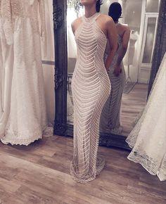 Wedding ideas Lange A-Linie Silber Perlen Meerjungfrau Luxus Ballkleider, The History Of Cost Elegant Dresses, Pretty Dresses, Sexy Dresses, Prom Dresses, Formal Dresses, Wedding Dresses, Beaded Dresses, Pageant Gowns, Mermaid Dresses
