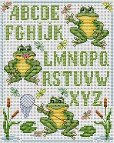 downloaded. Clever Frogs.  Tons of FREE CROSS-STITCH PATTERNS at this site: http://cross-stitchers-club.com/?code_avantage=uucqid      Plus, if you click on this link, http://cross-stitchers-club.com/?code_avantage=uucqid , you'll automatically receive a gift when you subscribe. I use this site all the time; there are hundreds of all different types of patterns, and there are new patterns added everyday. It's really worth a look.