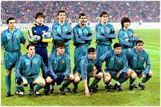 Equipos de fútbol: BARCELONA contra Bayern Munich 02/04/1996