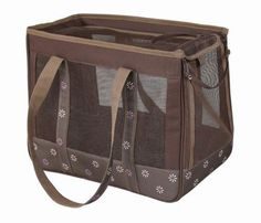 Pet Life Surround View Posh Fashion Pet Carrier Medium Mud Brown >>> Click on the image for additional details.(This is an Amazon affiliate link)