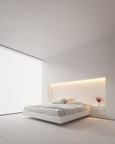 Home Decor Minimalist Neutral Modern-Minimalist Interior Design: 4 Examples That Masterfully Show Us How.Home Decor Minimalist Neutral Modern-Minimalist Interior Design: 4 Examples That Masterfully Show Us How Modern Minimalist Bedroom, Interior Design Minimalist, Minimalist Home, Modern Bedroom, Modern House Design, Modern Wall, Minimal Bedroom Design, Interior Design Simple, Simple Home Design