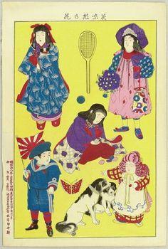 Meiji fashion - Japan - 1890s-1900s