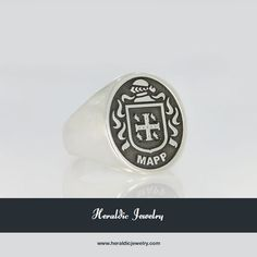 Mapp family crest jewelry