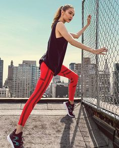 #Gigihadid for Reebok's Rise Beyond Campaign