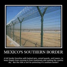 No country has an open border policy.