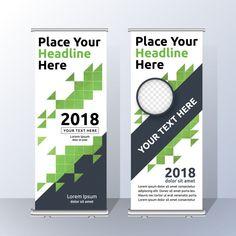 Business Roll up template design