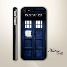 iPhone 5 Hard Case  Tardis Doctor Who Phonebooth  by NeutroneCraft, $16.00