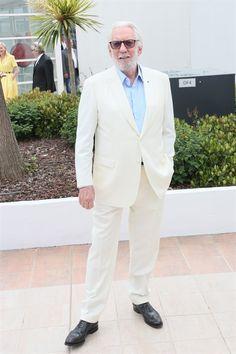 Donald Sutherland in Brioni