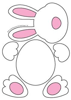 Easter Bunny Templates - Fun Cutouts and Activities for Easter, # Activities . - Easter Bunny Templates – Fun Cutouts and Activities for Easter, bunny templat - Bunny Crafts, Easter Crafts For Kids, Toddler Crafts, Preschool Crafts, Easter Projects, Easter Activities For Kids, Easter Crafts For Preschoolers, Toddler Preschool, Kids Fun