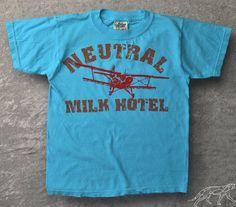 Neutral Milk Hotel Kids Shirt