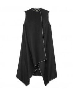 Asymmetrical Wrap Vest