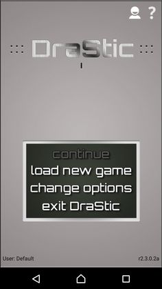 DraStic DS Emulator r2.4.0.1a