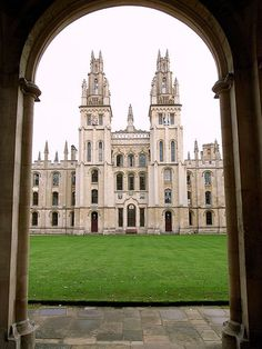 All Souls College, Oxford University, Oxford, England