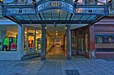 The Corridor is one of the world's earliest retail arcades - Bath, Somerset