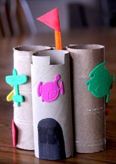 Toilet paper roll craft creations!