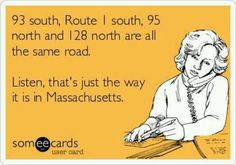 This is the most confusing set of highways. I'm not sure how anyone finds their way north or south!