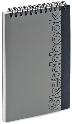 Silver Metallic Mini Sketch Book 4.5x6.75