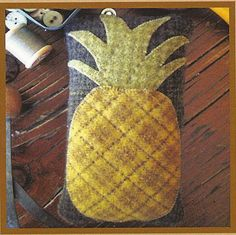 Primitive Folk Art Wool Applique Pattern by PrimFolkArtShop, $4.00