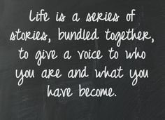 This is your life. #thisislife