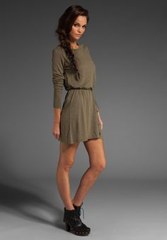 cute casual long sleeve dress