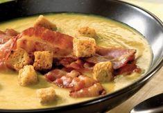 Soupe au navet et lard Lard, Alsace, Veggies, Appetizers, Chicken, Cooking, Desserts, France, Lorraine