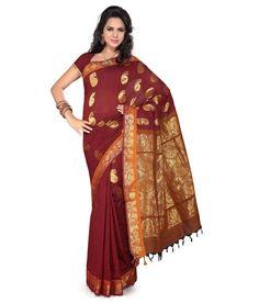 Popular Sarees of Andhra Pradesh & Telangana for your South Indian Bride #Ezwed #BridalSilkSarees #SouthIndianWeddingSarees #WeddingSarees