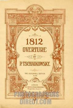 Title Page 1812 Overture