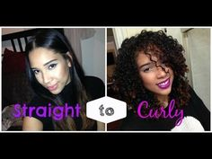 How to revive natural curls after months of straightening-youtube