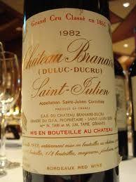 1982 Château Branaire-Ducru (St-Julien)