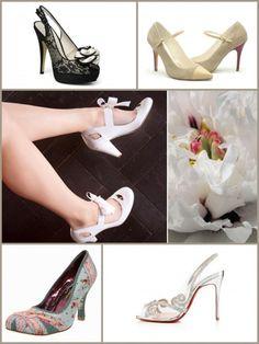 6ff804953b883 chaussures originales mariage escarpins liberty made in france louboutin  menbur ellips Carnet d inspiration Mademoiselle