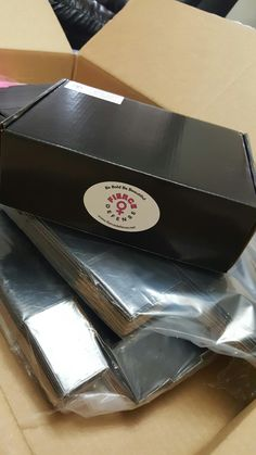 Box ready to be shipped