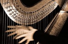 The Magical Golden Harp of Eire; This magical Harp can only be played by the chosen few of a particular Clan. Moustaches, Rhaegar And Lyanna, Castlevania Netflix, Tiefling Bard, Breathing Fire, Mala Persona, Muse, Character Aesthetic, Greek Gods