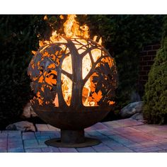 Arlmont & Co. Raelynn Double Spreader Bar Hammock & Reviews | Wayfair Wood Fire Pit, Gas Fire Pit Table, Steel Fire Pit, Wood Burning Fire Pit, Diy Fire Pit, Fire Pit Backyard, Fire Pit Sphere, Backyard Fireplace, Fire Fire