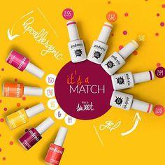 Rosas, amarelos, laranjas...não dá vontade e os abraçar e levar todos?! #AndreiaProfessional #Manicure #VernizGel #Verniz / Pinks, yellows, oranges...Don't you wish to hug and take them all?! #Manicure #GelPolish #NailPolish #SweetStyle