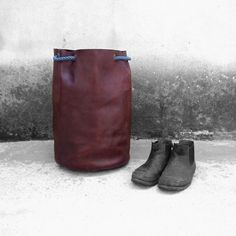 Leather Travel Bag The Westlands Made in di OfficinaitalianaTWL