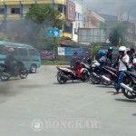 Mahasiswa Muhammadiyah Kendari Tuntut Kapolda Sultra Dicopot
