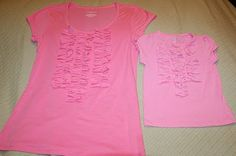 matching ruffle shirts for me and my tot http://tearosehome.blogspot.com/2010/03/tutorialruffle-shirt-why-not-vertical.html