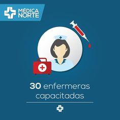 ¿Cómo vamos a cuidarte si no es con el mejor equipo de enfermeras? #excelencia #equipo #MédicaNorte