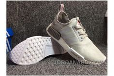 adidas NMD R1 Grey Linen Glitch CQ0858 NTAR Cheap NMD Shoes