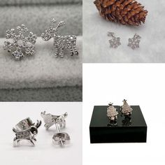 New Fashion Women Cute 925 Sterling Silver Stud Earrings Jewelry Christmas Gift #Unbranded #Cuff