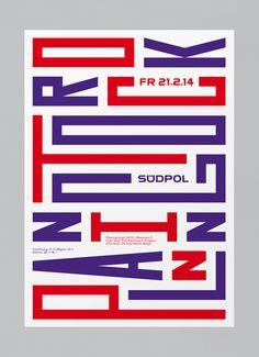 feixen graphic design typography style la monda magazine