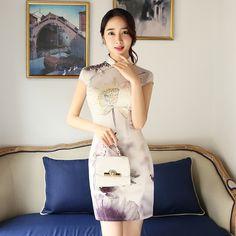 Cheongsam strapless fishtail dress https://www.ichinesedress.com/