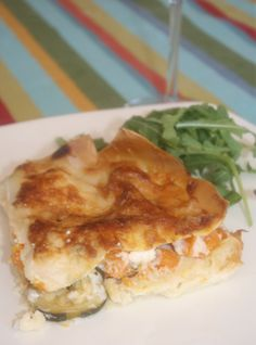 Recipes using goat cheese: Vegetable Lasagna with Goat Cheese