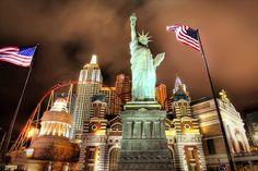 New York New York in Las Vegas