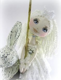Cloth Art Doll Urchin Collection Angelique by lilliputloft on Etsy ♡