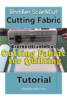 Learn how to cut fabric for your quilting projects using your Brother ScanNCut. Our step by step tutorial shows you how. Quilting Tutorials, Quilting Projects, Sewing Projects, Brother Scan And Cut, Your Brother, Scan N Cut, Fun Projects, Dollar Stores, Have Fun