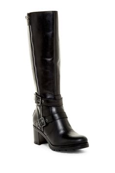 Lana Water Resistant Genuine Shearling Lined Leather Boot