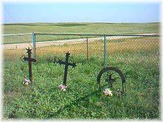 Swedish Crosses Cemetery near Gothenburg, Nebraska