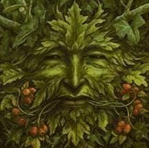I've made some Green Man wallhangings but I'd love to base one on this picture.